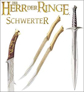 Herr der Ringe Schwerter